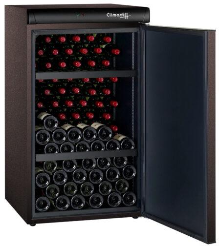 Climadiff-wijnbewaarkast-CLV122M-120-flessen-1-zone-monotemperatuur-ean-3595320101508