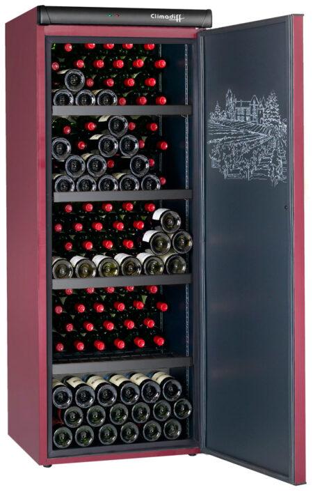 Climadiff-wijnbewaarkast-CVP215-216-flessen-1-zone-monotemperatuur-ean-3595320102796