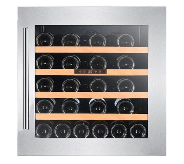 Climadiff-wijnkoelkast-inbouw-integreren-met-glazen-deur-1-zone-CLI60-44-flessen-ean-3595320105797