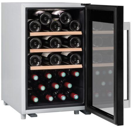 Climadiff-wijnkoelkast-wijnserveerkast-met-glazen-deur-CLS31-31-flessen-multi-temperatuur-ean-3595320105773