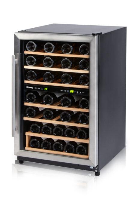 Domo-wijnkoelkast-DO918WK-45-flessen-met-glazen-deur-2-zones-ean-5411397124401