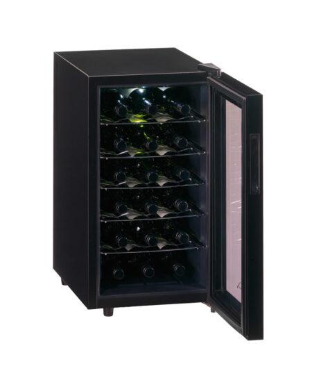 Temptech-Trend-vrijstaande-thermo-elektrische-wijnkoelkast-1-zone-18-flessen-FW48SB-ean-7090013676142