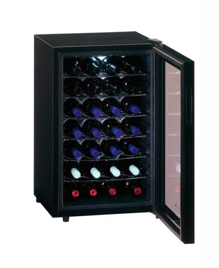 Temptech-Trend-vrijstaande-thermo-elektrische-wijnkoelkast-1-zone-28-flessen-FW65GB-of-FW65SB-ean-7090013676166