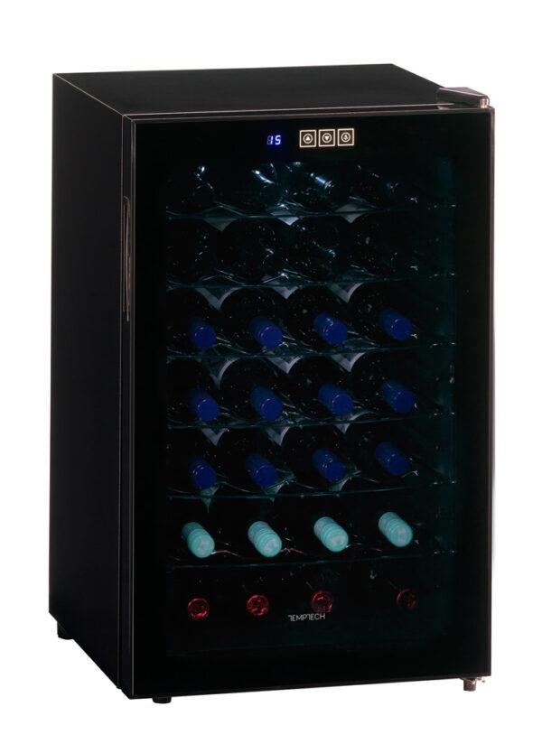 Temptech-Trend-vrijstaande-thermo-elektrische-wijnkoelkast-1-zone-28-flessen-FW65GB-of-FW65SB-ean-7090013676166_1
