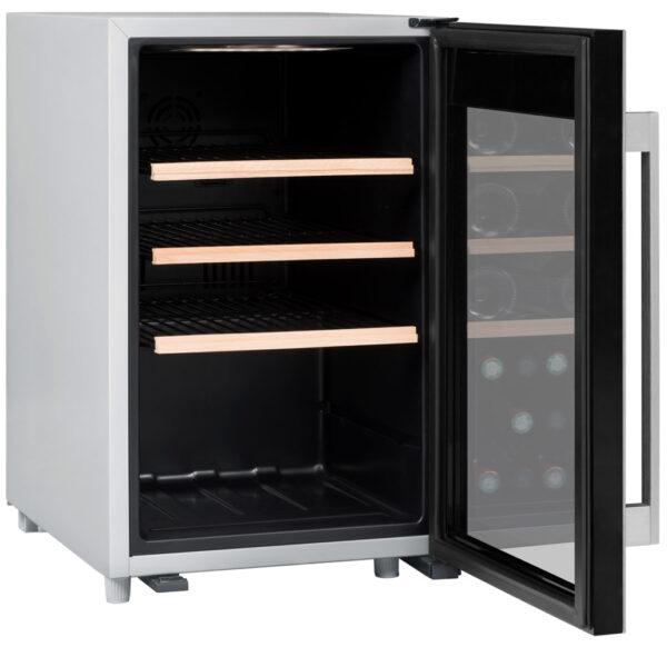 Climadiff-wijnkoelkast-wijnserveerkast-met-glazen-deur-CLS31-31-flessen-multi-temperatuur-ean-3595320105773_2